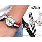 Disney ディズニー 腕時計 NATOタイプ スワロフスキー ミリタリーウォッチ シリアル入り 全4色