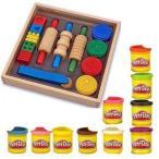 ショッピングメリッサ メリッサ&ダグ Shape, モデル and Mold with Play-Doh 10 パック of カラー Bundle