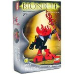 レゴ LEGO バイオニクル Mini Figure Set #8554 Tahnok Va Red