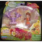 Disney ディズニー Fairies Tiny Tink & Friends Fawn & Butterfly Salute 人形 ドール