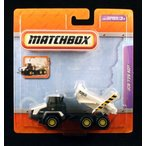 JCB 726 ADT * WHITE * マッチボックス Real Working Rigs Die-Cast Vehicle * Real Working Parts *ミニ