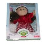 Cabbage Patch Kids (キャベツパッチキッズ) Holiday Doll Brown Hair Green Eyes 2012 限定品 ドール 人