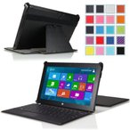 "MoKo Genuine Leather Slim-fit Case for Microsoft Surface Pro / Surface Pro 2 10.6"" Inch Windows 8"