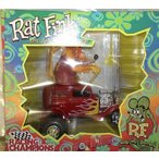 ショッピングDaddy Big Daddy Ed Roth Mod Rods Large ダイキャスト Rat Fink Car ミニカー ダイキャスト 車 自動車 ミニチ