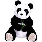 TY Beanie Baby (ビーニーベイビーズ) - LI MEI the Panda Bear (Internet Exclusive) by Ty TOY ドール