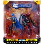 DC Universe Classics Exclusive アクションフィギュア 2-Pack Batgirl and Azrael フィギュア 人形 おも