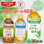 伊藤園 カテキン緑茶 カテキン烏龍茶 カテキンジャスミン茶 48本 送料無料 トクホ 特定保健用食品