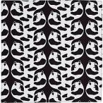 フィンレイソン アヤトス リバーシブル小ふろしき ブラック・グリーン(リバーシブル) FRCK03-A(LOR-C7083576) /風呂敷 パンダ/