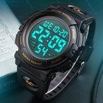 腕時計 デジタル メンズ 防水 アラーム ストップウォッチ LED 日付表示 取扱説明書 ビジネス カジュアル スポーツ おしゃれ シンプル ギフト プレゼント SKMEI