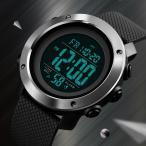 腕時計 ミリタリーウォッチ デジタル メンズ 防水 アラーム タイマー ストップウォッチ LED 日付表示 取扱説明書 ビジネス カジュアル スポーツ シンプル SKMEI