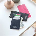 カードケース スリム レディース おしゃれ [HANSMARE SECOND WALLET] かわいい ポイントカード 紙幣 クーポン 収納 長財布 メンズ パスケース DM便無料