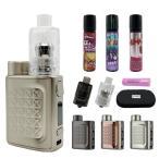 電子タバコ ベイプ Eleaf イーリーフ iStick Pico2+GEMM Tank+リキッド+バッテリー付き アイスティックピコ2 Pico 2 ピコ2 ピコツー ベプログ VAPE