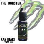 電子タバコ リキッド 国産 ザ モンスター KAMINARI -カミナリ- 日本製 15ml/アイス/ベイプ/フレーバー/安全/ザ モンスター KAMINARI