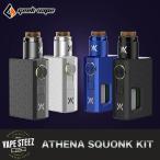 電子タバコ VAPE 正規品 Geekvape Athena Squonk Kit ボトムフィーダー BF メカニカルMOD メカスコ
