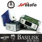 電子タバコ MOD Stentorian BASILISK 200W BOX MOD 高出力 カーブモード搭載