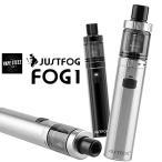 ( 送料無料 あすつく ) JUSTFOG FOG1 ジャストフォグ フォグワン 電子タバコ スターターキット vape DTL MTL