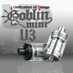 UD(Unification of Design) GOBLIN MINI V3 (ゴブリンミニ) シングルコイル/デュアルコイル 2ml容量 RDA RBA RTA 上級者向け