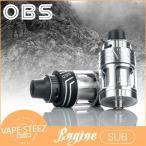 電子タバコ OBS ENGINE SUB 25mm クリアロマイザー Atomizer 5.3ml