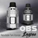 OBS ENGINE RTA フレーバー重視 5.2ml大容量アトマイザー リビルダブル トップサイドフィルタイプ