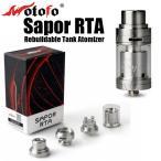 Wotofo Sapor RTA Rebuildable Tank Atomizer 2ml アトマイザー VAPE 電子タバコ