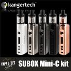 電子タバコ スターターキット Kangertech社製 SUBOX MINI-C KIT TOPBOX SUBOX NANO NEBOX