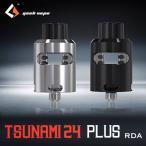 GeekVape TSUNAMI24 PLUS RDA BF-PIN付き (ボトムフィーダー) 直ドリ ドリッパータンク 手巻きコイル RTA RBA