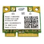 [未使用品]インテル無線LANカード Intel Centrino Wireless-N 1000(112BNHMW) 802.11b/g/n 300Mbps [メール便発送、送料無料、代引不可]