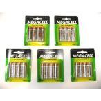 ショッピング訳有 MEGACELL アルカリ単3型乾電池 (4本×5パック) 計20本 LR6.AA 1.5V _