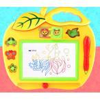 りんごのおえかきボード マグネットペン スタンプ付き お絵かきボード お絵描きボード 磁石 知育玩具 おもちゃ _