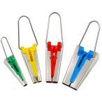バイアステープメーカー 家庭用ミシン アタッチメント 4サイズセット P-TAPEM _