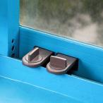 窓ガラス用 窓ガード 2個入り ウインドロック 補助錠 サッシ 防犯 _
