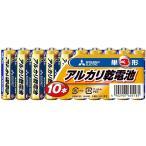 三菱電機 アルカリ乾電池 単3形 10個入 LR6N/10S[メール便発送、送料無料、代引不可]