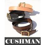 CUSHMAN クッシュマン 29602[ro]ベルト 日本製☆チノパン用 30mmシングルピンベルト メンズ