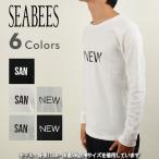 SEA BEES シービーズ 623-505PT1[a4]ワッフルロンT メンズ