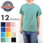 GOOD WEAR グッドウエアー GDW-200[ay]アメリカ製 Goodwear USA ポケット付き 半袖 無地 Tシャツ メンズ
