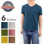 GOOD WEAR グッドウエアー GDW-205[ay]アメリカ製 Goodwear USA ポケット付き Vネック 半袖 無地 Tシャツ メンズ