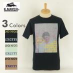 訳有処分品 KRIFF MAYER クリフメイヤー 421151B プリントTシャツ 半袖 メンズ 男  ブランド