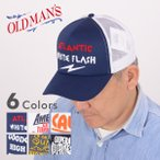 OLD MAN'S オールドマンズ OLD-4112[a6s]PRINT MESH CAP プリント メッシュキャップ