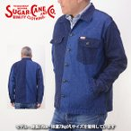 SUGAR CANE シュガーケーン SC13733[a6w]11oz ネップデニム クレイジーパターン ワーク シャツジャケット