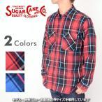 SUGAR CANE シュガーケーン SC27117A[r5w]チェックネルシャツ 長袖 メンズ