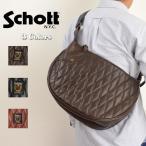 Schott ショット 3109022[ro]PADDED LEATHER BANANABAG ショット パデッドレザー バナナバッグ
