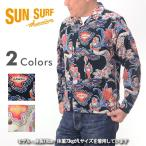 SUN SURF サンサーフ SS27406[a6w]コーデュロイ L/S アロハシャツ 『ALOHA QUEEN』