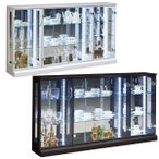 コレクションボード コレクションケース LEDライト付 幅150cm 高さ80cm 完成品