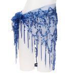 Yahoo!ヴァストマートベリーダンス 衣装 ヒップスカーフ コスプレ きらきらコスチューム  4色『メール便対応可』