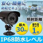 【アナログ】防犯カメラ 監視カメラ 420TVL 赤外線ライト 屋外 防水 3.6mm広角レンズ 赤外線暗視カメラ