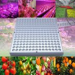 LED 植物育成  植物育成ライト 14W 225LED 植物育成パネル 水耕栽培ランプ  LEDパネル 室内 植物 照明 LEDライト