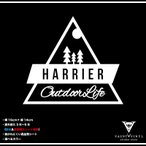 Outdoor Life HARRIER ハリアー カッティング ステッカー