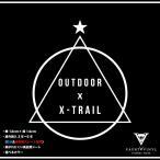 OUTDOOR X X-TRAIL エクストレイル カッティング ステッカー