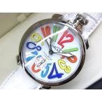 ガガミラノ GaGa MILANO Manuale マヌアーレ 腕時計 ウォッチ 5010.01S ホワイト 白 48MM メンズ【中古】【ベクトル 古着】