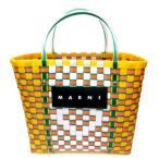 【中古】マルニ MARNI Market マーケットバッグ トートバッグ カゴバッグ ピクニック ショッピング 編み込み マルチカラー レディース 【ベクトル 古着】